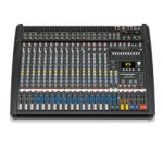 Dynacord DC-CMS1600-3-MIG เพาเวอร์มิกเซอร์ Compact mixing 12 Mic/Line + 4 Mic/Stereo- Line, 4x4 In/Out USB digital interface, Master outputs with 7-band EQ, 2 Aux, 2 FX, 2 Mon, 1 Master L/R
