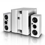 LD Systems LDDAVE8XSW ชุดเครื่องเสียง Compact active PA system (White )