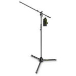 Gravity GMS4321B Microphone Stand With Folding Tripod Base And 1‐Point Adjustment