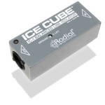 Radial IceCube IC-1 ไดเร็คบ๊อกซ์ Balanced Line Isolator and Hum Eliminato