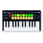 NOVATION LUANCHKEY MINI MK II 25 Note Mini Key USB MIDI Controller, can be connected directly to an iPad and powered by an Apple Camera Kit (not included)