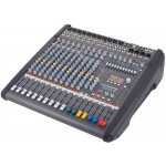 Dynacord DC-PM1000-3-UNIV เพาเวอร์มิกเซอร์ Powered mixer 2 x 1,000W @ 4 ohm class D, 6 Mic/Line + 4 Mic/Stereo-Line, 4x4 In/Out USB digital interface, Master outputs with 7-band EQ, 2 Aux, 2 FX, 2 Mon, 1 Master L/R