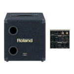 Roland KCW-1 200-watt powered subwoofer for use with Roland's KC-Series amps