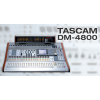 TASCAM DM-4800 64-channel (48 input +16 retum) 24 bus/12 AUX/stereo out, supporting 96kHz sampling frequency.