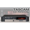 TASCAM CD-RW900SL เครื่องบันทึกเสียง เครื่องอัดเสียง the CD-RW900SL is a rugged CD Recorder for high-quality audio recording on CD-R and CD-RW media. Analogue material can be recorded via RCA connectors with two independant input level controls for t