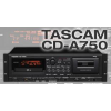 TASCAM CD-A750 เครื่องอัดเสียง เครื่องเล่นบันทึกเสียงดิจิตอล CD-A750 makes the most of two highly popular consumer audio formats, audio cassette and audio CD.The CD-A750 has balanced input and outputs as well as serial and parallel control ports for