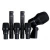 Lewitt DTP Beat Kit 6 The 6-piece drum kit includes one DTP 340 REX and three DTP 340 TT super-cardioid dynamic drum mics, two LCT 140 condenser mics, windshields and drum- and shock mounting systems, and comes in a convenient black aluminum carrying