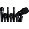 Lewitt DTP Beat Kit Pro 7 this 7-piece pro-kit contains the DTP 640 REX, three dynamic DTP 340 TT mics, two LCT 340 condenser mics and one cardioid dynamic MTP 440 DM mic, as well as a selection of shock and drum mounts. And comes in a rugged aluminu