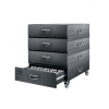 OKAYO HDC-50 50-Slot Charger Drawer Case Tour Guide System