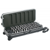 OKAYO HDC-736 36-Slot Charger Carry Case Tour Guide System