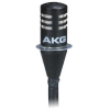 AKG C577 WR Moisture resistant miniature lavalier microphone with XLR connector for phantom powering, black