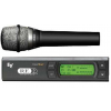 Electro-Voice RE2-510 Handheld system includes: HTU2C-510 transmitter featuring the RE510 super cardioid Condenser element, and RE-2 diversity receiver.