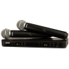 SHURE BLX288A/SM58‐R12 ไมโครโฟนไร้สาย BLX Dual Channel Handheld System with SM58