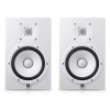 YAMAHA HS8W ตู้ลำโพงมอนิเตอร์ 2 way bass-reflex bi-amplified nearfield studio monitor with cone woofer and dome tweeter.(White)