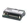 BARIX Barionet 100 Universal, programmable I/O device server with web server, Modbus/TCP and SNMP support. Serial ports, analog and digital I/O, Relays and Dallas 1-wire support. UL listed