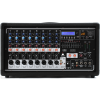 Peavey PVi 8500 เพาเวอร์มิกเซอร์ เครื่องขยายเสียง 400W (200W x 2) 8-channel Powered Mixer with 8 Inputs, Built-in FX, 9-band Graphic EQ, Aux Audio Input, and SD Card/USB Audio Playback