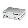 เครื่องรับ ถอดระหัสเสียง BARIX EXS 105 Exstreamer 105 : IP Audio Decoder decodes and plays multi-protocol and multiformat audio streams, including MP3, AACplusV2, WMA, PCM, G.711, and Ethersound with Micro SD