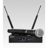 SHURE QLXD24/SM58 ����⿹������ Ẻ��Ͷ�� Handheld Wireless Microphone System