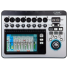 QSC TOUCHMIX-8 มิกเซอร์ Touch-screen digital audio mixer with 8 mic/line inputs, 2 stereo inputs, 4 effects, 4 aux sends