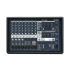 YAMAHA EMX312SC เพาเวอร์มิกเซอร์ 12 Ch. Power Mixer stereo mixer featuring 8 XLR channels. 600 W 4 of these channels are also stereo channels.