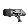 RODE Stereo VideoMic Stereo condenser microphone with integrated shockmount, HPF and PAD. Designed to connect directly to consumer video cameras.