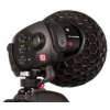 "RODE Stereo VideoMic X Broadcast-grade stereo on-camera microphone with all metal construction. 1/2"" true condenser capsules, digital switching, 3 step level control, HPF and HF boost. 3.5mm or dual mini XLR output."