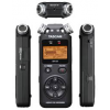 TASCAM DR-05 V2 เครื่องบันทึกเสียงแบบพกพา ที่เหมาะสาหรับใช้งานนอกสถานที่ Simple-to-use 24-bit/96kHz Digital Recorder with Omnidirectional Microphones
