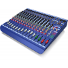 DM16 16-Input Analog Live/Studio Mixer from MIDAS provides remarkable sonic performance and amazing versatility. The DM16 Mixer features MIDAS microphone preamplifiers with true +48 phantom power that delivers transparency and nuanced low noise and h