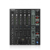 Behringer DJX-750 มิกเซอร์ดีเจมืออาชีพ 5 ช่องทางด้วย Advanced ดิจิตอลเอฟเฟและ BPM เคาน์เตอร์ Professional 5-Channel DJ Mixer with Advanced Digital Effects and BPM Counte