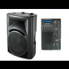 "NPE PP-2315AUB ตู้ลำโพง 2 Way Active Loudspeaker 15"" Full Range 500 วัตต์ 4 โอห์ม"