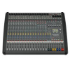 Dynacord DC-PM1600-3-UNIV ��������ԡ���� Powered mixer 2 x 1,000W @ 4 ohm class D, 12 Mic/Line + 4 Mic/Stereo-Line, 4x4 In/Out USB digital interface, Master outputs with 7-band EQ, 2 Aux, 2 FX, 2 Mon, 1 Master L/R