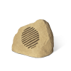 WORK MR 110 S LINE garden speaker with a rock shape.