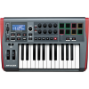 NOVATION IMPULSE 25 USB MIDI controller KB 2 Octave, touch sensitive controls, LED light rings