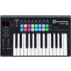 NOVATION LUANCHKEY 25 MK II USB MIDI controller KB 2 Octave, touch sensitive controls, integrated LaunchPad control surface with RGB LED pads