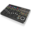 Behringer X-TOUCH Universal Control Surface with 9 Touch-Sensitive Motor Faders, LCD Scribble Strips and Ethernet/USB/MIDI Interface