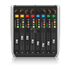 Behringer X-TOUCH EXTENDER 8 Touch-Sensitive Motor Faders, LCD Scribble Strips, USB Hub and Ethernet/USB Interfaces