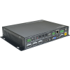 Signady SC51TS Scaler switcher with 5 inputs & 1080P seamless, PoH, HDMI1.4, HDCP2.2, GUI, includes Rx