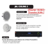 JBL CEILING 2 ชุดเครื่องเสียง Background Music (8128 CEILING+Control 19CST+VMA1120)