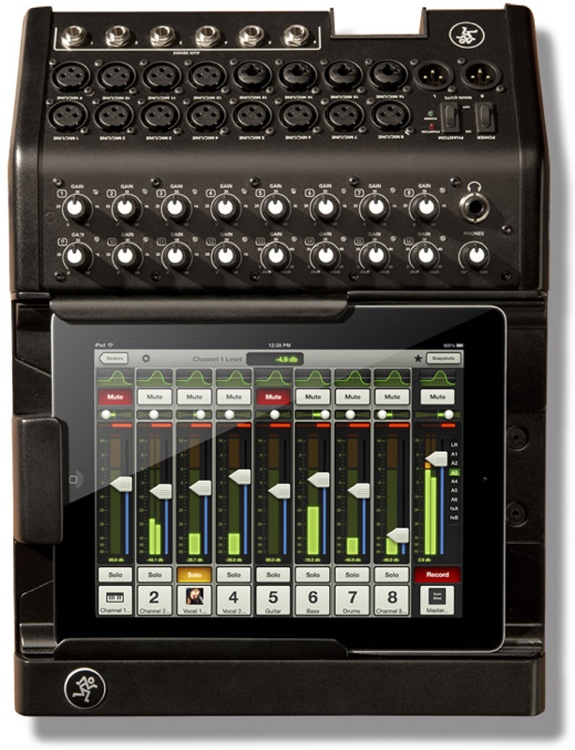 Mackie DL1608 มิกเซอร์ 16-Channel Digital Live Sound Mixer with iPad® Control