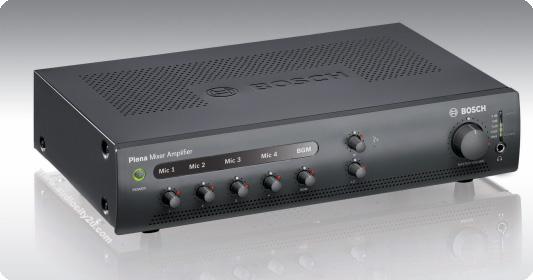 Bosch Plena PLE-1ME120-EU เครื่องขยายเสียง Plena Mixer Amplifier 120 Watt
