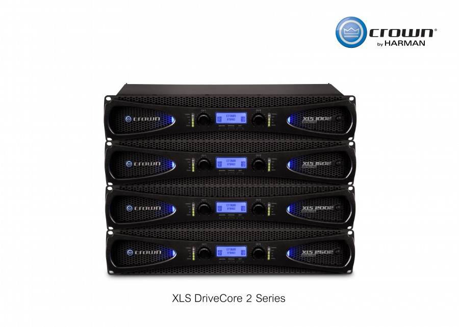 XLS DriveCoreTM 2  แอมป์ปริไฟเออร์สายพันธุ์ใหม่จาก Crown