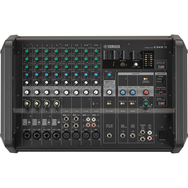 YAMAHA EMX7 เพาเวอร์มิกซ์ Portable Powered Mixers