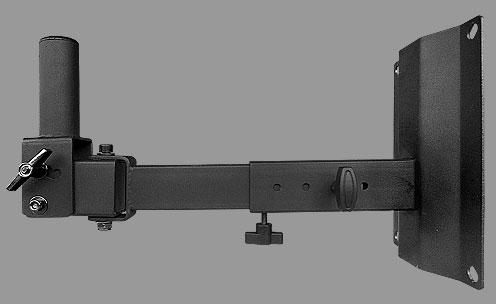 NTS ST-20 ขาแขวนตู้ลำโพงโลหะติดผนังแบบกระบอก Wall mount heavy duty steel tube speaker stand (35 mm. diameter)