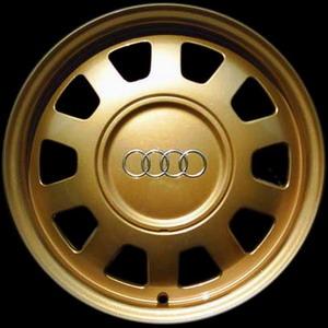 ล้อแม็กซ์ Audi นำมาทำเป็น สีทอง