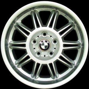 ทำ ล้อแม็กซ์ BMW เป็นสี Silver