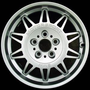 ( ทำ ล้อแม็กซ์ เป็นสี Silver ) ล้อ BMW Motor Sport