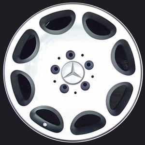 ทำ ล้อแม็กซ์ Benz  เป็นสี Silver