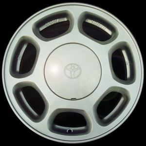 ทำ ล้อแม็กซ์ เดิมของ Toyota เป็นสี Silver