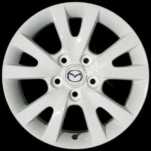 ล้อแม็กซ์ Mazda3 นำมาทำเป็น สีขาว