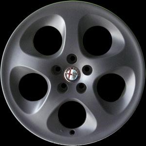 ล้อ Alfa 156 ทำ สีดำด้าน